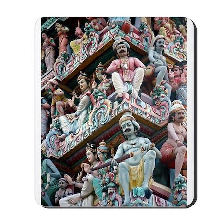Hindu Temple - Singapore Mousepad