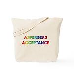 Aspergers Acceptance Tote Bag