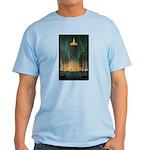 New York Central Building Light T-Shirt
