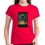 New York Central Building Women's Dark T-Shirt