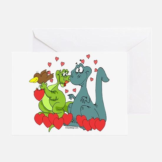 Dinosaur Love Greeting Card