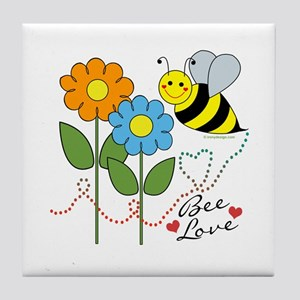 Bee Love Tile Coaster