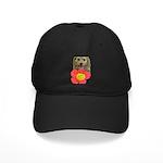 puppy flower power Baseball Hat