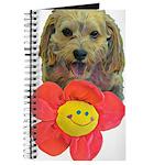 puppy flower power Journal