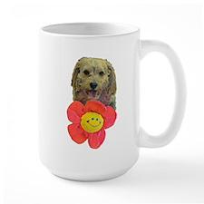 puppy flower power Mugs
