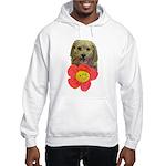 puppy flower power Sweatshirt