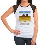 Vermiculture Women's Cap Sleeve T-Shirt