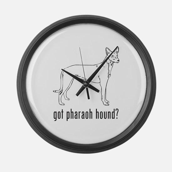 Pharaoh Hound Large Wall Clock