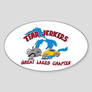 Sticker (Oval) - Great Lakes Tear Jerkers