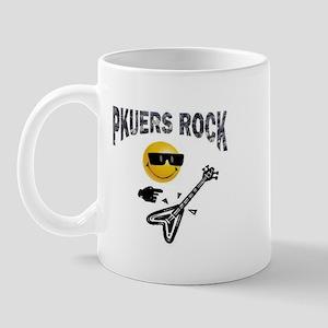 PKUERS ROCK Gifts Mug