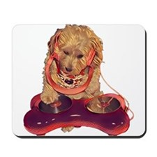 DJ Dog E Dog Mousepad