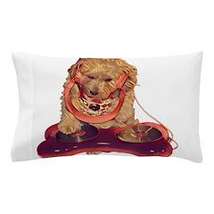 DJ Dog E Dog Pillow Case