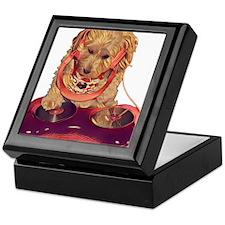 DJ Dog E Dog Keepsake Box