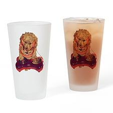 DJ Dog E Dog Drinking Glass