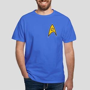Blue Shirt Insignia Dark T-Shirt