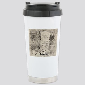 Tombstone Grave 16 oz Stainless Steel Travel Mug