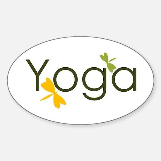 Yoga Sticker (Oval)
