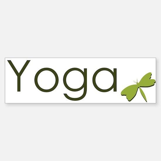 Yoga Sticker (Bumper)