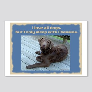 Sleep with Chessies Postcards (Package of 8)