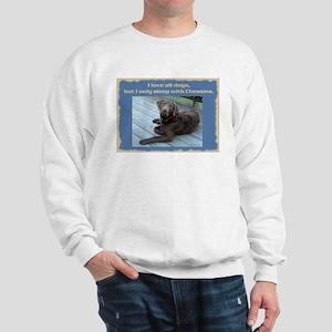 Sleep with Chessies Sweatshirt