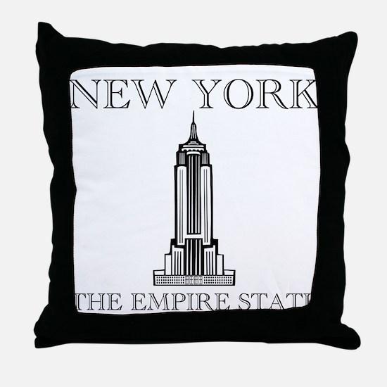 Empire State Throw Pillow
