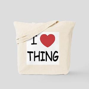 I heart thing Tote Bag