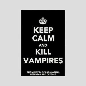 Rectangle Kill Vampires Magnet