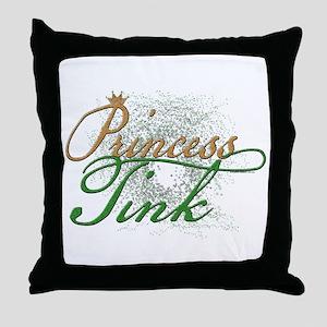 Princess Tink Throw Pillow