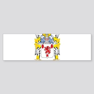 Shield Family Crest - Coat of Arms Bumper Sticker