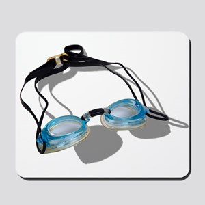 Swimming Goggles Mousepad