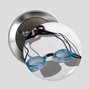 """Swimming Goggles 2.25"""" Button"""
