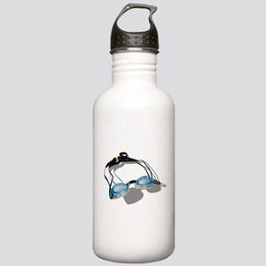 Swimming Goggles Stainless Water Bottle 1.0L