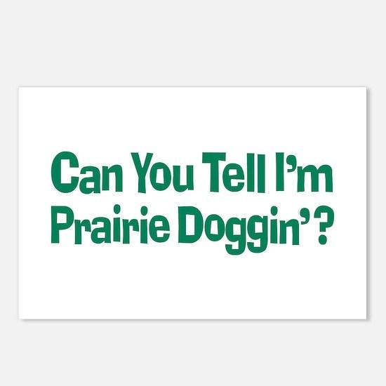 Prairie Dogging Humor Postcards (Package of 8)