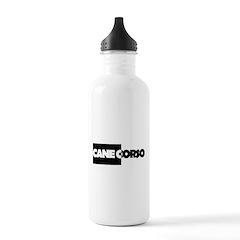 Cane Corso B&W Water Bottle
