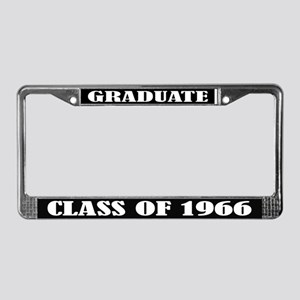 Class of 1966 License Plate Frame