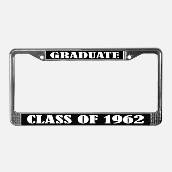 Class of 1962 License Plate Frame