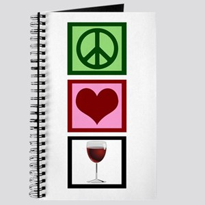 Peace Love Wine Journal