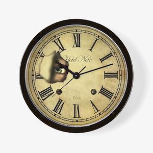 Clock Watching Wall Clock