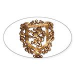 Crest Sticker (Oval 50 pk)