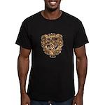 Crest Men's Fitted T-Shirt (dark)
