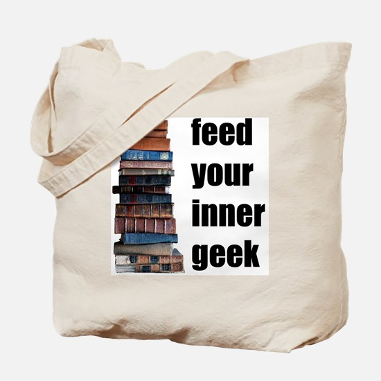 Feed Your Inner Geek Tote Bag