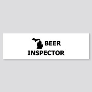 Michigan Beer Inspector Sticker (Bumper)