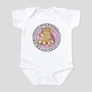 Support Testicular Cancer Infant Bodysuit