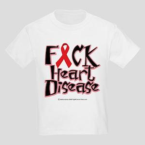 Fuck Heart Disease Kids Light T-Shirt