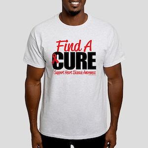 Heart Disease Find a Cure Light T-Shirt
