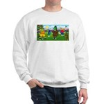 Golfing Frogs Sweatshirt