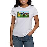 Golfing Frogs Women's T-Shirt