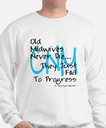 Old Midwives Blue Sweatshirt