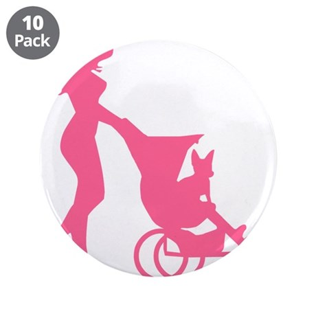 """My Baby 3.5"""" Button (10 pack)"""