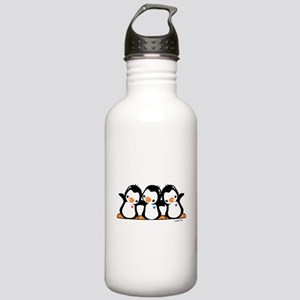 Penguins (together) Stainless Water Bottle 1.0L